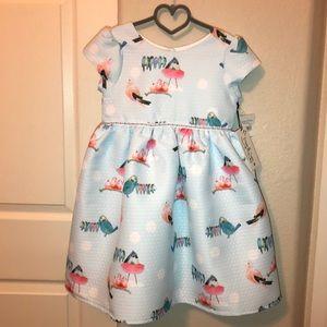 Sky Blue Dress for Little Girls